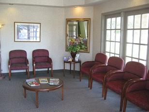 Lakeside Dental waiting room